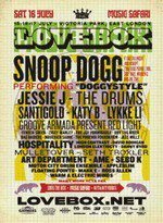Vodafone Runs Contest for Lovebox Festival Tickets