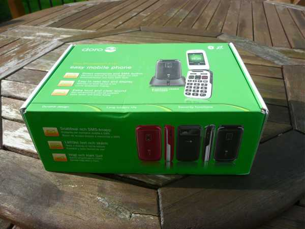 Doro PhoneEasy 610 Mobile Hands On Review pic 1