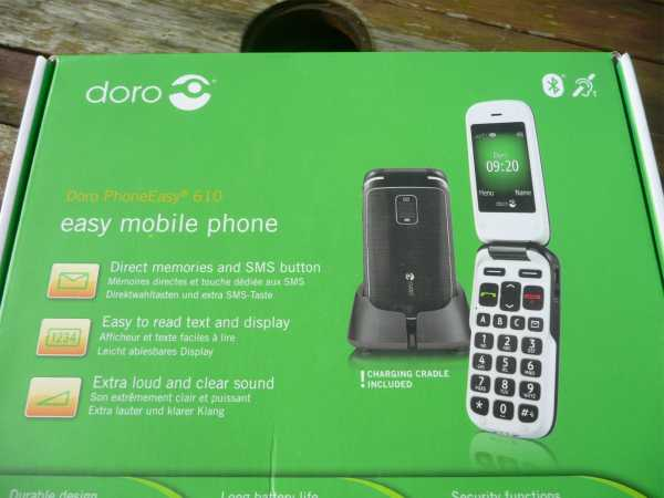 Doro PhoneEasy 610 Mobile Hands On Review pic 2