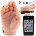 iPhone 4 Accessories: The Hand Case, Really Weird