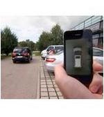 iPhone Remote Parking a Volkswagen Sharan: Video
