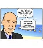 iPhone Uncool HTC Remark Slapped Down By Comic