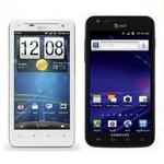 Galaxy S II Skyrocket and HTC Vivid AT&T Release Dates and Prices