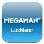 MEGAMAN LuxMeter iOS App for Lighting Tips and Levels