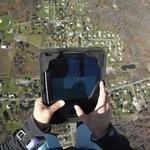 Apple iPad extreme skydiving drop video