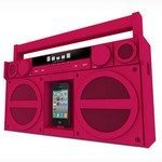 iPhone Accessories: iHome iP4 an 80's style boombox