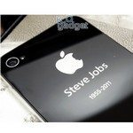 iPhone for Steve Jobs back cover available