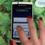 Xperia 2011 range to get Swype style gesture input update: video