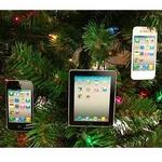 Apple Christmas Tree: iPad & iPhone decorations