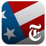 NYTimes Election 2012 app for iOS