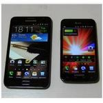 Galaxy S2 Skyrocket, Galaxy Note comparison videos