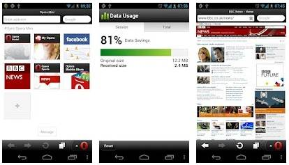 Improving Web-Browser with Opera Mini 7 For Android - PhonesReviews