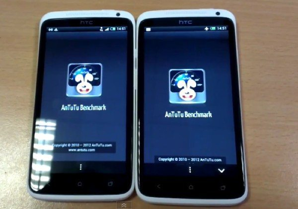 Snapdragon S4 vs Tegra 3 on HTC One X video ...
