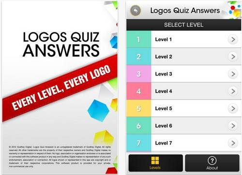 Logos Quiz Game App All Levels And Answers Phonesreviews Uk Mobiles Apps Networks Software Tablet Etc