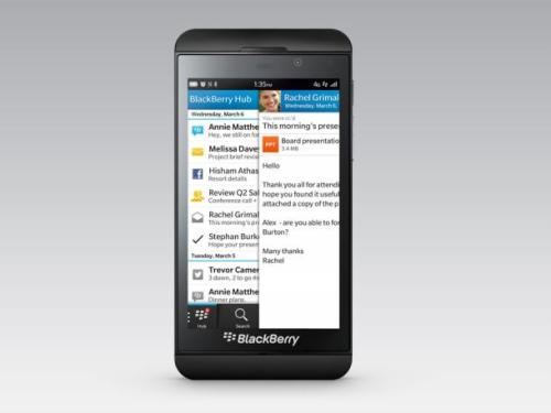 how to delete an app from blackberry z10