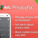 AVG Privacy Fix app for social media networking