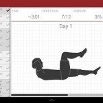 Abs workout at home or anywhere via Android app