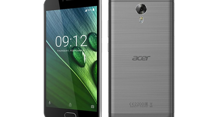 Acer Z6 Plus unveiled with 4,080mAh battery at IFA 2016