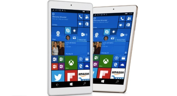Alcatel OneTouch Pixi 3 Windows 10 tablet, price for April arrival
