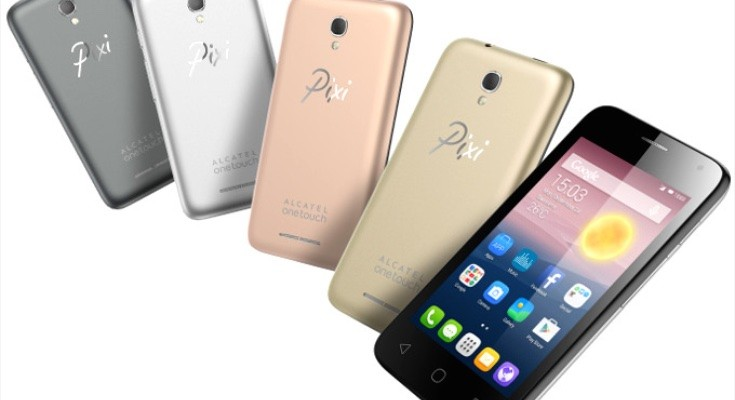 Alcatel OneTouch Pixi First budget phone