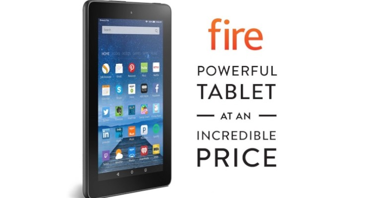 Amazon Fire entry-level tablet has low price