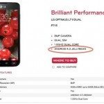 Android 4.3 release teased with LG Optimus L7 2 listing