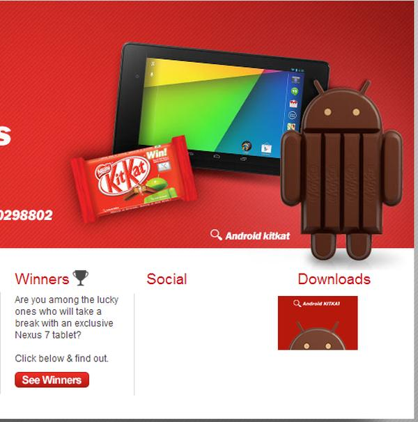 Android 4.4 KitKat competition reaches India, bag a free Nexus 7