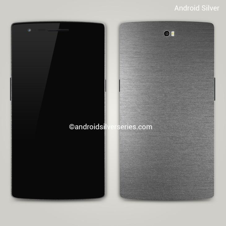 Android Silver smartphone render has Nexus 6 similarities