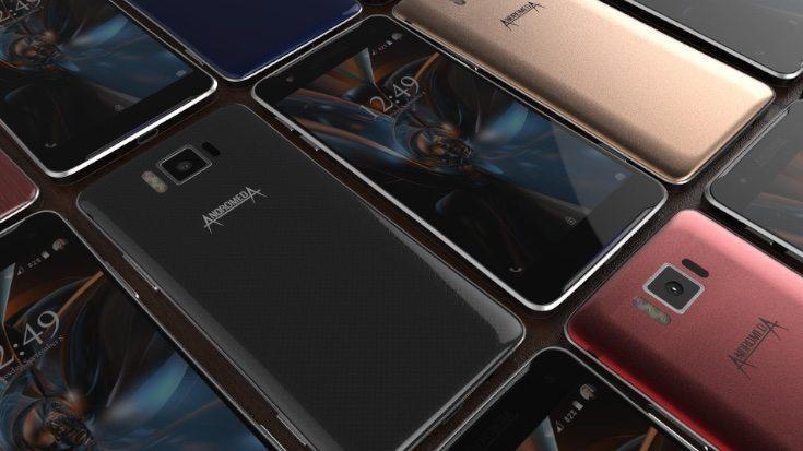 Andromeda Epsilon phone with specs b