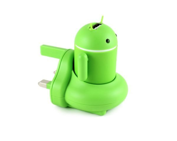 Andru Android Robot USB Phone Travel Charger is a neat idea pic 2