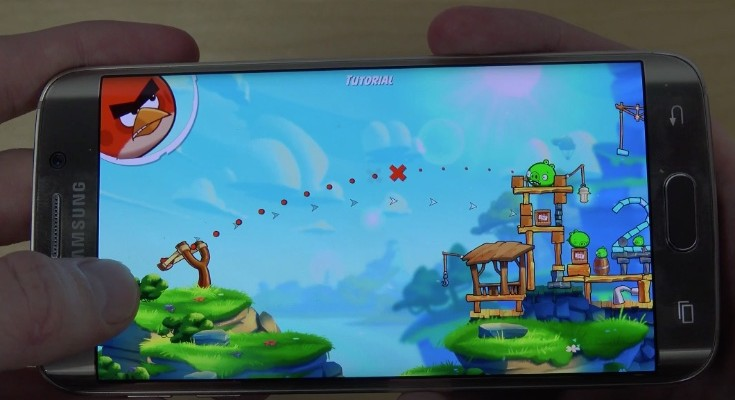 Angry Birds 2 review with Samsung Galaxy S6 Edge gameplay
