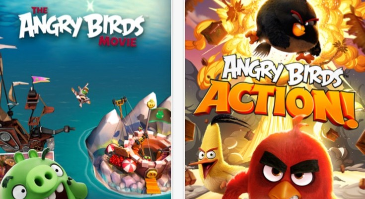 Angry Birds Action Android and iOS apps available