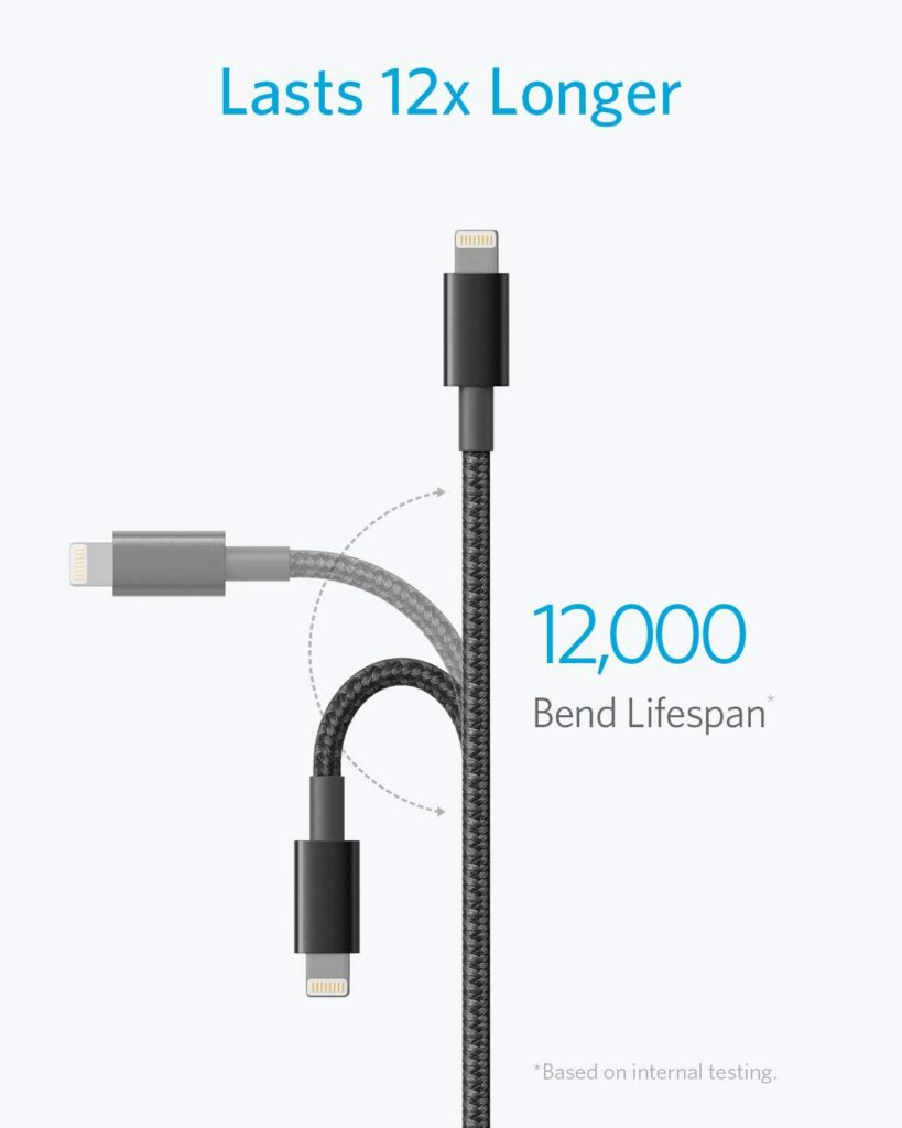Anker Premium Nylon Lighting Cable 2