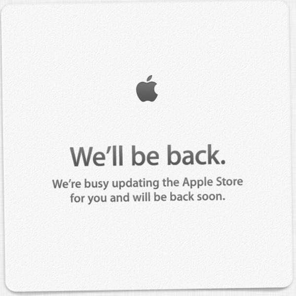 Apple Store down suggests new iPhone pre-orders to start instantly