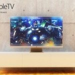 Apple TV concept, iTV curve is perfect AirPlay companion pic 1