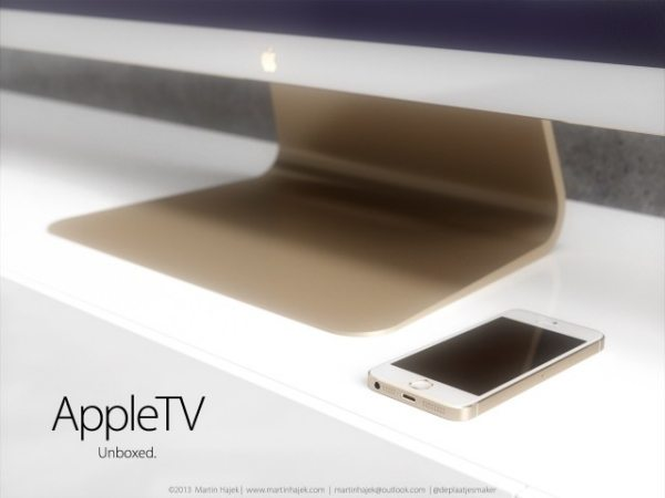 Apple TV concept, iTV curve is perfect AirPlay companion2