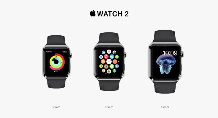 Apple Watch 2 design pushes it further
