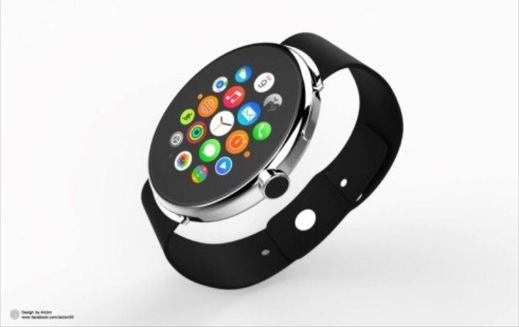 Apple Watch round design