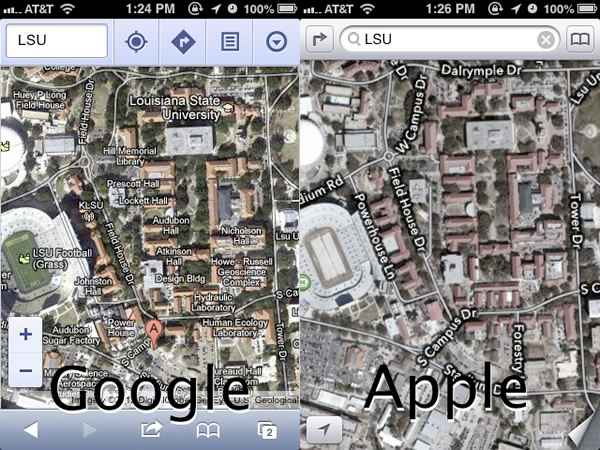 Apple iOS 6 Maps fix by TomTom 2