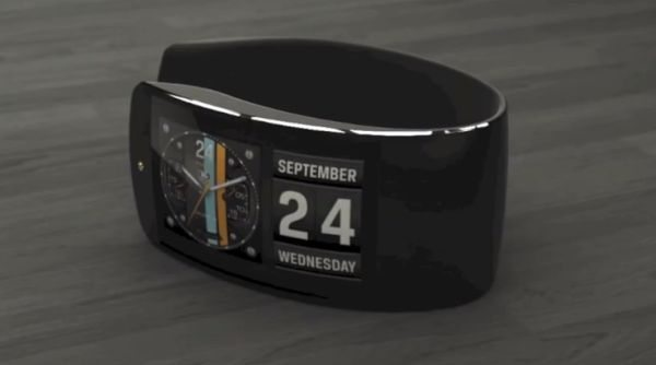 Apple iWatch with flexible display and imagination ...