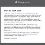Apple's iOS developer program still down, more insight