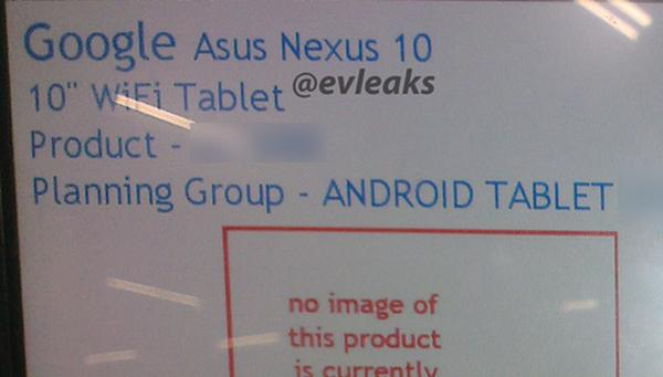 Asus Nexus 10 launch could be imminent