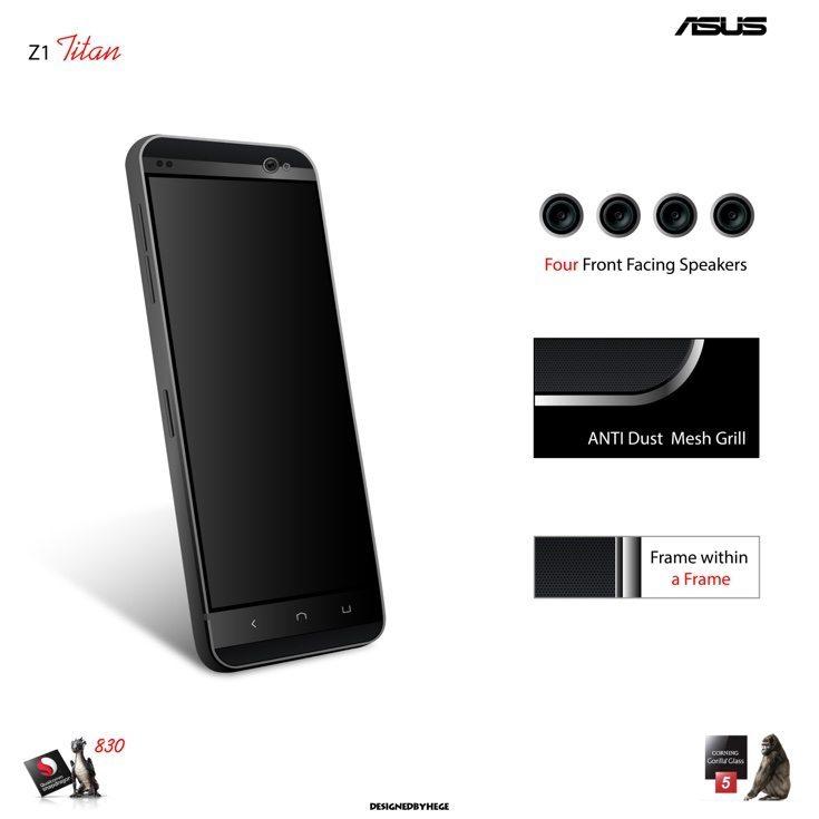 Asus Z1 Titan concept d