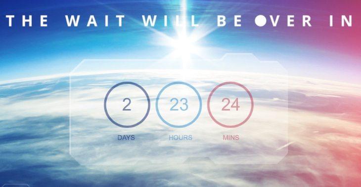 Asus Zenfone 2 countdown