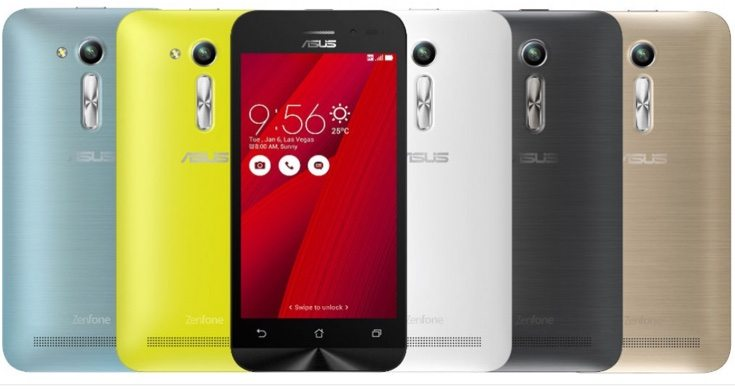 Asus Zenfone Go 4.5 2nd gen price variants for India launch