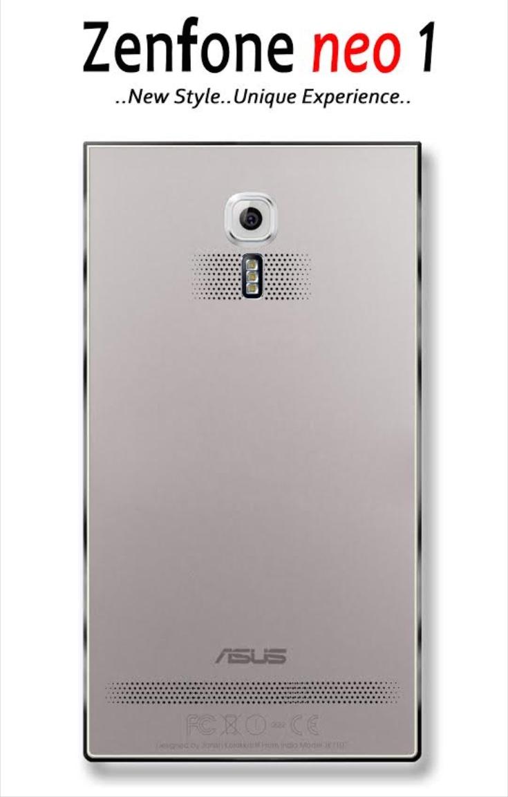 Asus Zenfone Neo 1 design b