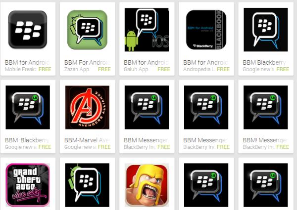 BBM for Android release delay among fake apps