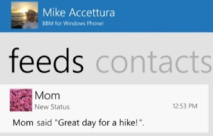 BBM for Windows Phone release b