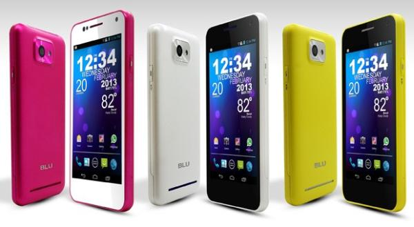 BLU Vivo 4.3 gets Jelly Bean update and colour treats