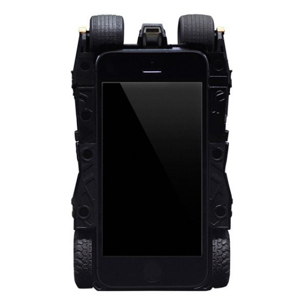 Batman Tumbler iPhone Case like Dark Knight Batmobile pic 2